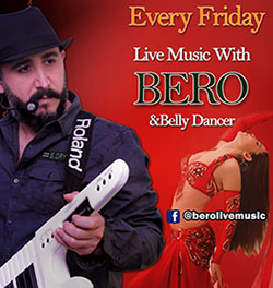 Bero Live at Cedars